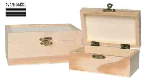 Laterne Holz Stecksystem Avantgarde ~ Holzbox Holzkiste Groß